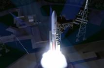 Start rakiety Vulcan - wizualizacja / Credit: ULA