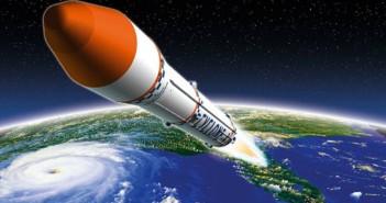 Start rakiety Cyklon-4 - wizualizacja / Credit: Ukraińska Agencja Kosmiczna