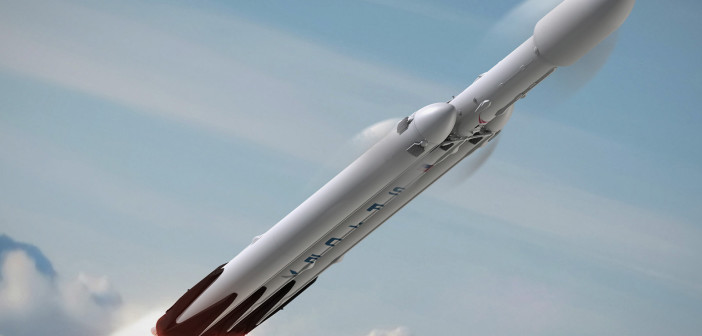 Rakieta Falcon Heavy / Credit: SpaceX