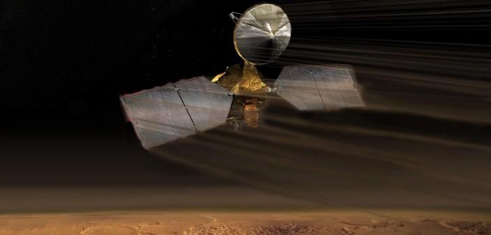Mars Reconnaissance Orbiter / Credit: NASA