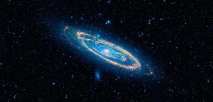 Galaktyka Andromedy w zakresie podczerwieni / Credits - NASA/JPL-Caltech/WISE Team