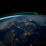 Skandynawia i Bałtyk z perspektywy ISS / Crefits - NASA