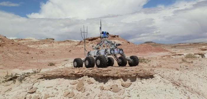 Łazik Lengedary Rover / Credits - Politechnika Rzeszowska, zespół Legendary Rover