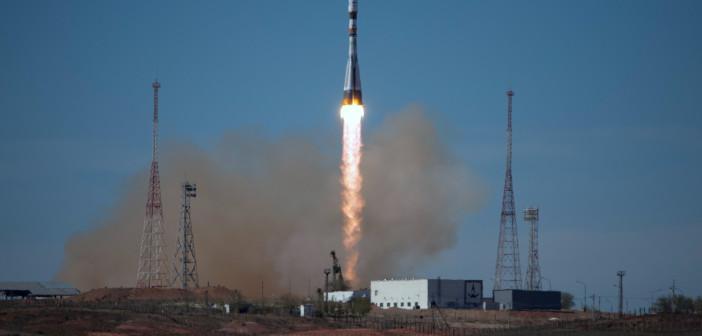 Sojuz-2 wynoszący satelitę Bion-M1 (z Bajkonuru)/ Credit: DLR
