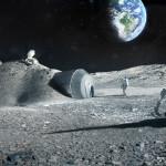 Baza księżycowa / Credit: ESA