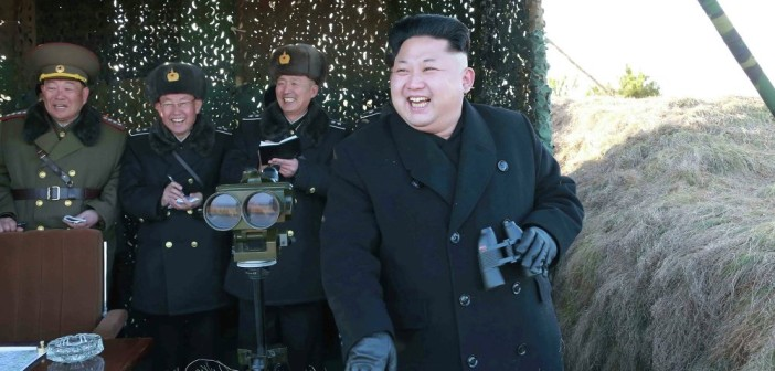 Kim Dzong Un na poligonie / Credit: KCNA