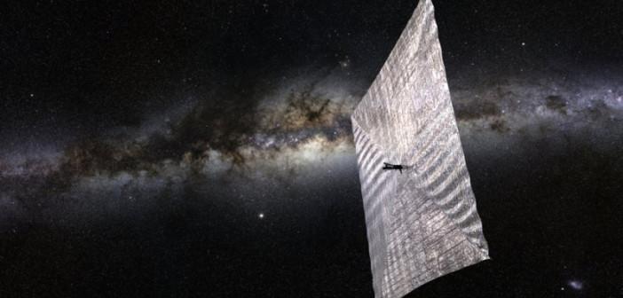 LightSail-1 / Credits: Planetary Society