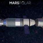 MarsPolar, koncepcja statku (Credits: MarsPolar)