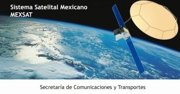 Satelita MexSat-1 / Credits - ecretaria de Comunicaciones y Transportes