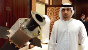 Omar Sharaf, kierownik projektu sondy Hope / Credit: Emirates Institution For Advanced Science & Technology