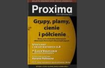 Okładka PROXIMA 2/2015 / Credits - PROXIMA