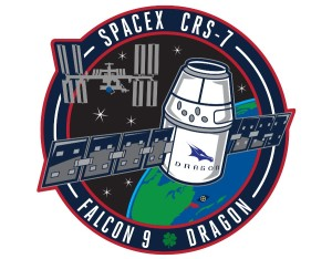 Logo misji SpX CRS-7 / Credits - SpaceX