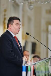 Andrzej Banasiak - dyrektor generalny Thales Alenia Space Polska / Credit: TAS Polska