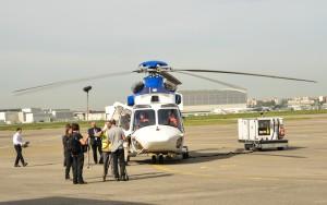 Śmigłowiec H175 dostosowany do używania EGNOS, Tuluza, 7 maja 2015 / Credit: GSA