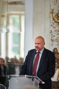 Paweł Piotrowski - prezes Thales Alenia Space Polska / Credit: TAS Polska