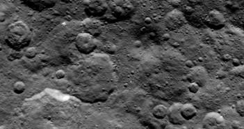 Kratery północnej półkuli Ceres - zdjęcie z 06.06.2015 / Credits - NASA/JPL-Caltech/UCLA/MPS/DLR/IDA