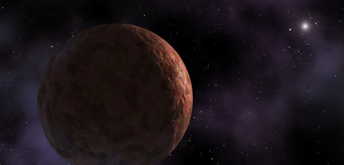 Wizja artystyczna Sedny (bez księżyca, którego nadal nie wykryto) / Credots - NASA, ESA, HST