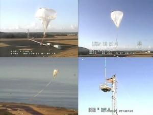 Start balonu z Low-Density Supersonic Decelerator.