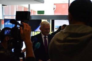 Gościem otwarcia siedziby PAK był Jerzy Buzek / Źródło: BDS