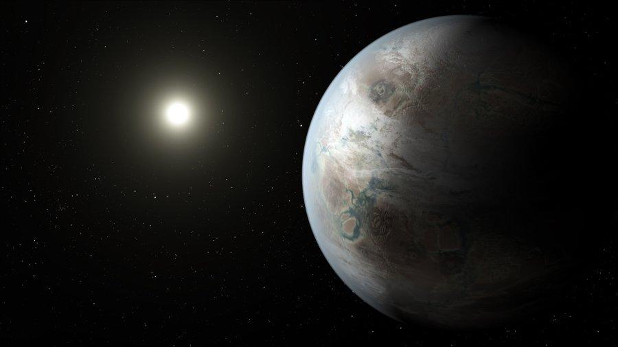 Wizja artystyczna układu Kepler-452 b / Credits - NASA Ames/JPL-Caltech/T. Pyle