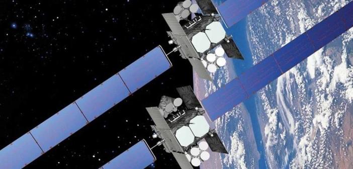 Wizja artystyczna satelity WGS-7 (Boeing)