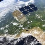 Sentinel-2 na orbicie - wizualizacja / Credit: ESA - ATG Medialab