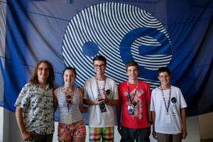 """Drużyna AlpSat - zwycięzcy European CanSat 2015 w kategorii """"Początkujący"""" / Credit: ESA - D. Cruz"""