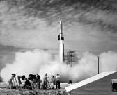 Pierwsza rakieta wystrzelona z Przylądka Canaveral