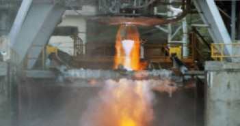 Test silnika kriogenicznego ISRO / Credit: ISRO