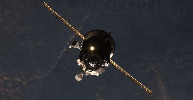 Cumowanie statku Progress M-28M do stacji ISS / Źródło: NASA