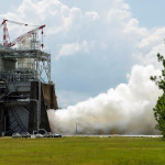 535. sekundowy test silnika RS-25, Stennis Space Centre, 16 lipca 2015 / Credit: NASA