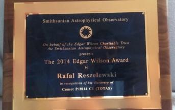 Nagroda dla Rafała Reszelewskiego / Credits - Rafał Reszelewski