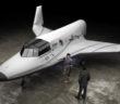 Pojazd suborbitalny XCOR Lynx / Credit: XCOR