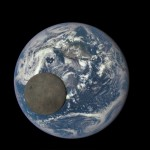 Ziemia i Księżyc okiem DSCOVR / Credits - NASA, NOAA