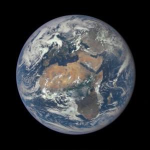 Drugie opublikowane zdjęcie z DSCOVR - Afryka i Europa / Credits - NASA, NOAA