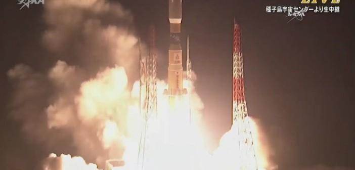 Start HTV-5 / Credits - JAXA, NASA TV