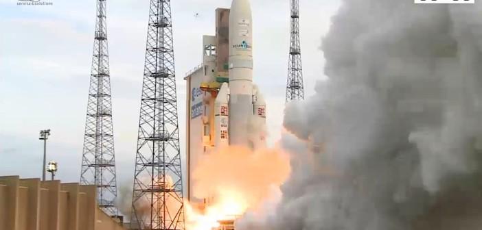 Start Ariane 5 - 20 sierpnia 2015 / Credits - Arianespace, videocorner
