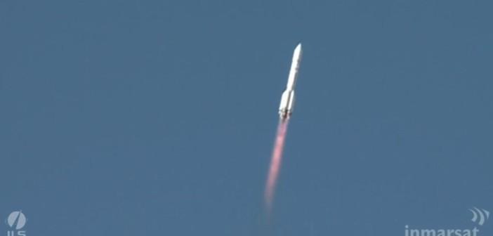 Start Protona-M z 28 sierpnia 2015 / Credits - ILS, Inmarsat