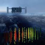 Grafika przedstawia jedno z najintensywniejszych przejść kosmicznych neutrin przez laboratorium IceCube na Biegunie Południowym. Credits: IceCube Collaboration