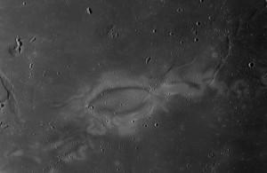Obszar Reiner Gamma. Credits: NASA/LRO