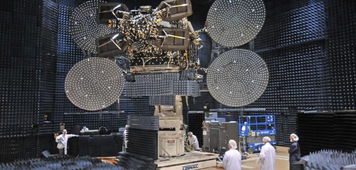 Echostar 17/Jupiter-1 podczas badań środowiskowych / Credit: Space Systems Loral