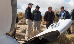 Komisja NTSB bada miejscę katastrofy SpaceShipTwo / Credits: Virgin Galactic