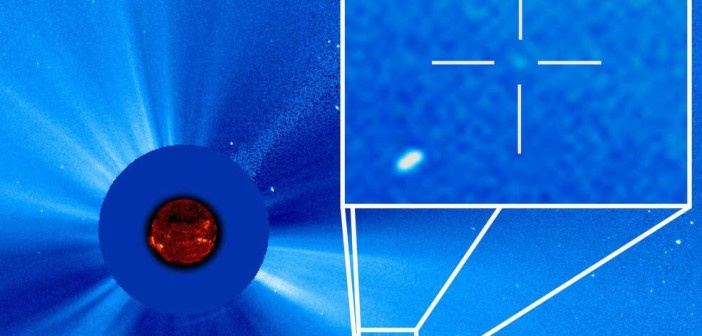 Kometa SOHO 3000 / Credits - ESA/NASA/SOHO