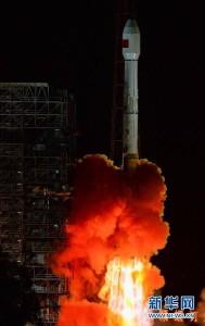 Start CZ-3B z 12 września 2015 / Credits - news.cn