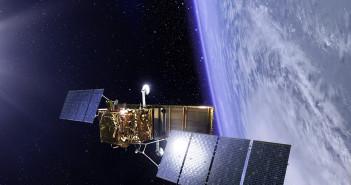 Satelita konstelacji COSMO-SkyMed - wizualizacja / Credit: Thales Alenia Space
