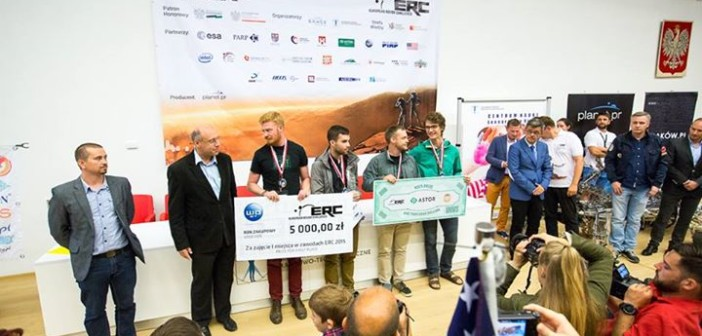 ERC 2015 - I miejsce - University of Saskatchewan Space Design Team z Kanady / Credit: PlanetPR