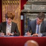 Podpisanie umowy na fazę C/D NEOSAT / Credit: TAS