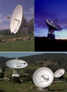 Stacje naziemne Deep Space Network / Credits - NASA