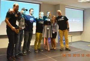 Zwycięzca zespół ugrav box/ Credits: Krzysztof Kanawka Blue Dot Solutions