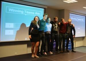 Zespół RedOut zajął drugie miejsce / Credits: Krzysztof Kanawka Blue Dot Solutions